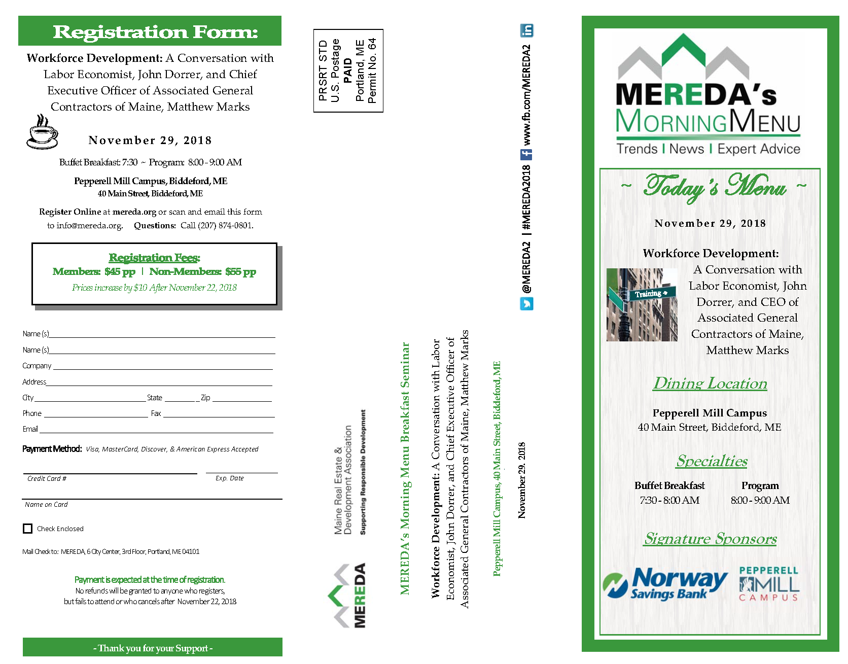 Event Mailer Yrk County