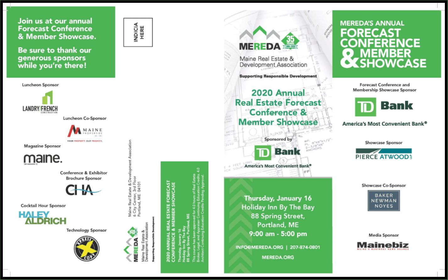 Forecast Conference Mailer 2020